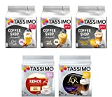 Tassimo Discover Bundle - Tassimo Coffee Shop Selections Chai Latte/Typ Flat White/Typ...