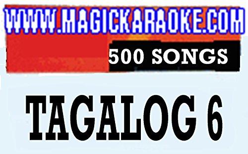 MAGIC SING'Tagalog-6' Song Chip - 500 Tagalog & English Songs WITH SONG LIST