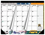 Magnetic Calendar 2021-2022 for Fridge, 17x12 Inches, Large, Monthly Planner, Jun 2021- Dec 2022, Schedule Planner Refrigerator, Busy Moms