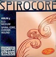 CUERDA VIOLIN - Thomastik (Spirocore/S13) (Metal/Cromo) 4ェ Medium Violin 4/4