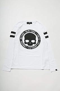 (ハイドロゲン) HYDROGEN ロングTシャツ ロンT カットソー ホワイト メンズ (240633) 【並行輸入品】