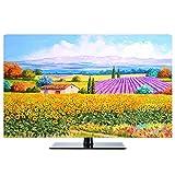 HBLZG TV- Estuche Protector Antipolvo Compatible con PC, computadora de Escritorio y Pantalla de TV Cubierta Protectora Universal contra el Polvo (Color : B, Size : 32 Inch)