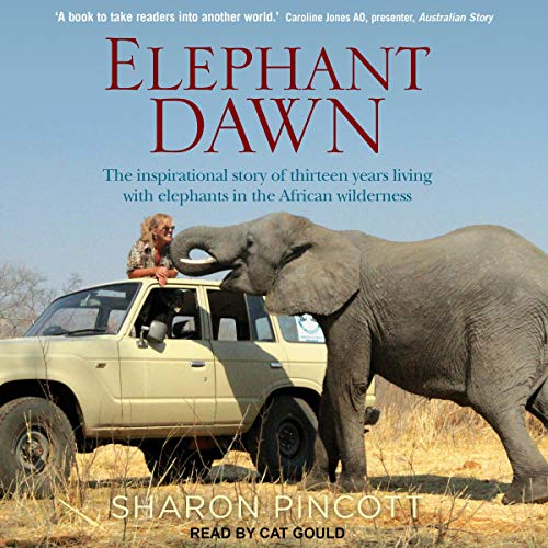 Elephant Dawn audiobook cover art