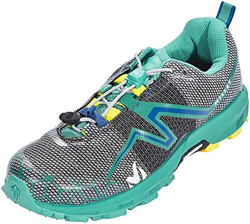 MILLET LD Light Rush Zapatillas de Trail Running, Mujer, Multicolor (Dynasty Green/Butter Cup 000), 37 1/3 EU