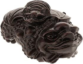 Prettyia Handmade Craft Wood Carved Buddha Sculpture Decoration for Home/Office/Store - Blessed, as described