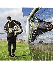 QUICKPLAY Doelsax 2in1 Voetbaldoelnet en Voetbaltas | Multi-Sport Target Net en Apparatuur Tas