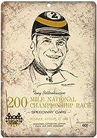 200 Mile National Championship race ティンサイン ポスター ン サイン プレート ブリキ看板 ホーム バーために