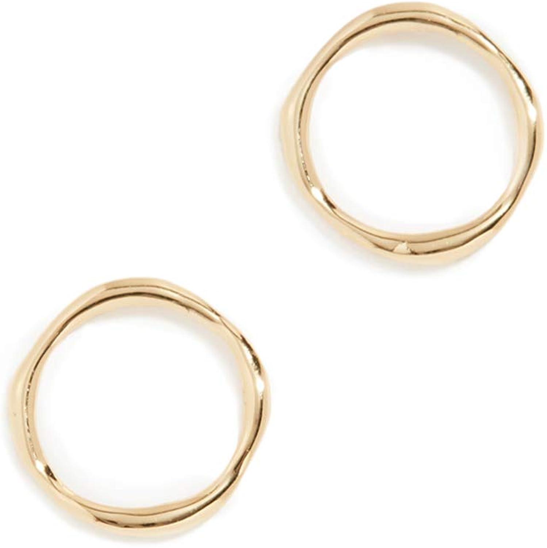 Gorjana Women's Quinn Delicate Stud Earrings