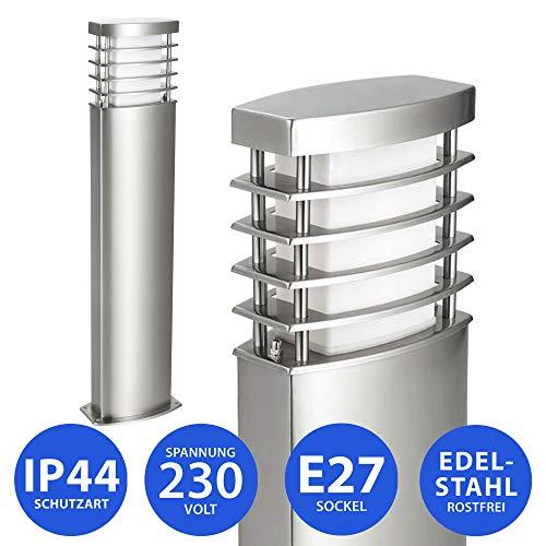 MAXKOMFORT® Außenleuchte Wandleuchte E27 Lampe Wandlampe Leuchte Außenlampe Außenwandleuchte (922-800)