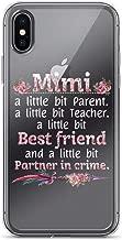 Women Mimi A Little Bit Parents,Teacher, Partner in Crime Anti-Scratch Shockproof Case for iPhone 6 Plus/6s Plus