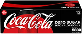 Coke Zero Sugar Fridge Pack 12 fl oz Cans - 12 Cans in total - Pack of 1