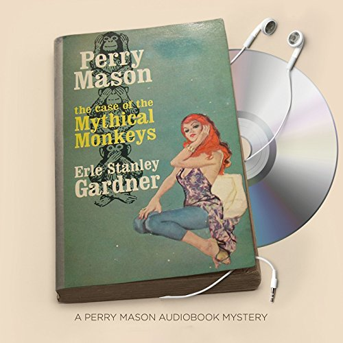 The Case of the Mythical Monkeys audiobook cover art