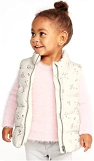 Frost-Free Printed Stars Vest for Toddler Girls!