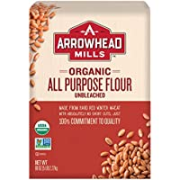 Arrowhead Mills Organic Unbleached All Purpose White Flour