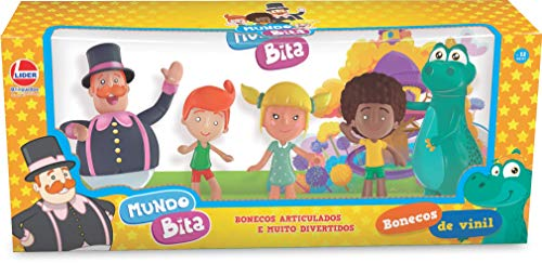 Boneco E Personagem Bonecos Vinil Familia Bita Lider Multicor