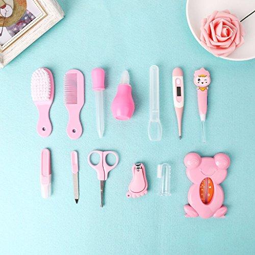 Mentin 13 pcs/ensemble Kit de soins bébé Infirmière nouveau-né Bébé Clou Cheveux Soins de...