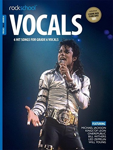 ROCKSCHOOL MALE VOCAL GR 6 BK AUDIO