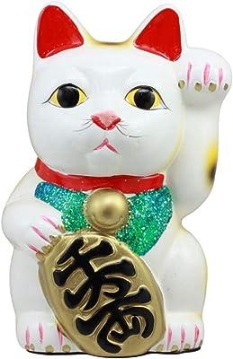 Amazon.com: Fabricado en Japón gato de la suerte 7.5 ...