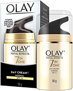 Olay Total Effects Face Cream Moisturiser Normal SPF 15 50g