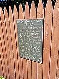 by Unbranded Reglas de cabina de caza de signo de madera