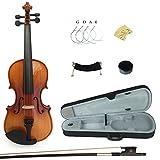 Kinglos PJB1002 1/8 Massivholz Schüler Akustische Violine Geige Anlasser Ausrüstung