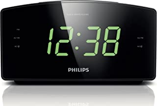 Philips AJ3400/37 Clock Radio, Black