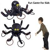 kungfu Mall Toss Gioco Polipo Gonfiabile Anelli di Ragno Halloween Party Game Gioco per Interni ed Esterni per Feste per Bambini
