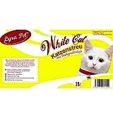 White Cat 30 L Katzenstreu in 30 L Tonne Klumpstreu mit Babypuderduft saugstark - 3