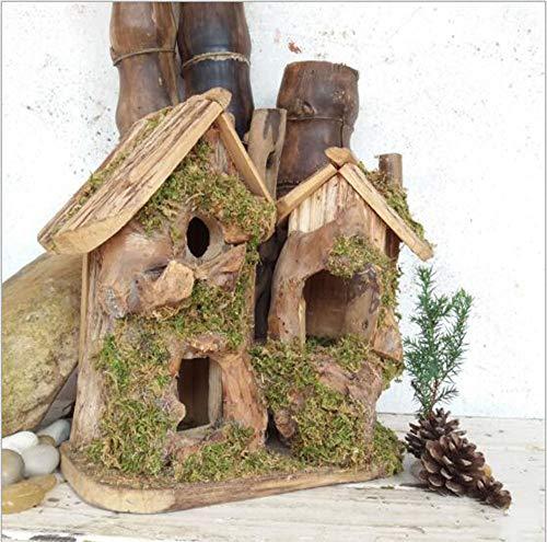 Handgefertigte Holzvogelnest Zuchtbox