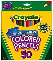 Crayola 50ct Long Colored Pencils (68–4050) 3-Sets