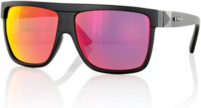 CARVE Rocker Sunglasses Matt Black Red Iridium