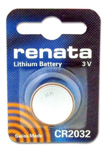 Renata Pile Lithium 3V CR2032 Pile pour montre Fabriqué en Suisse électronique 785618135626 piles