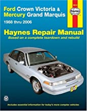 Ford Crown Victoria & Mercury Grand Marquis Automotive Repair Manual, 1988 thru 2006