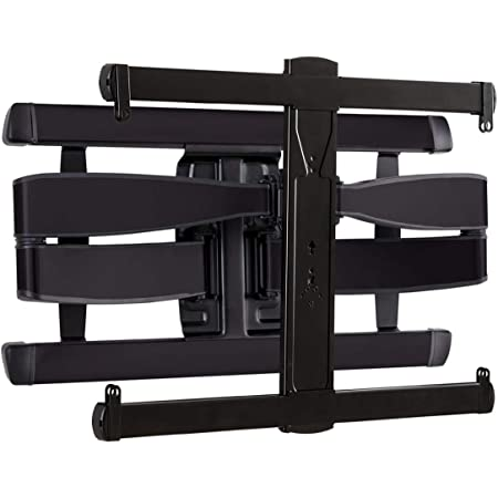 """SANUS Advanced Universal Full-Motion Premium TV Wall Mount for 46"""" to 95"""" Flat Screen TVs - Features 8º Of Tilt & 55º Of Swivel, Ideal For Extra Large TVs - UL Listed & Safety Tested - VXF730-B2"""