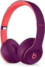 Beats Solo3 Wireless On-Ear Headphones - Beats Pop Collection - Pop Magenta (Renewed)