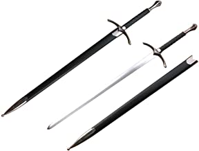 Medieval Knight Warrior's Sword with Scabbard
