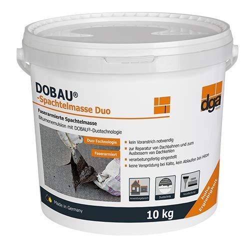 Bitumen Spachtelmasse Duo 10 kg von Dobau lösemittelfrei