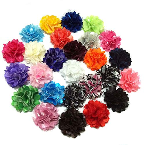20pcs Baby Girls Hair Clips with Flower Girls Pigtail Flower Clips Dog Charms...