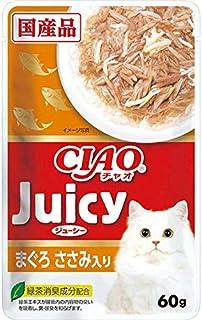 CIAO(チャオ) Juicy(ジューシー) まぐろささみ入り 60g×16袋【まとめ買い】【在庫限り】