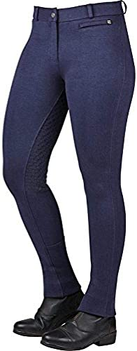 Dublin Supa Fit Zip Up Gel Full Seat femmes Jodhpurs