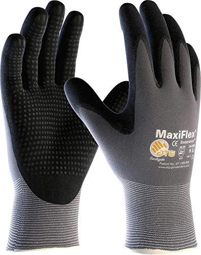 'MaxiFlex® Endurance(TM)' (34-844) Nylon-Strickhandschuhe mit Noppen, Handschuhgröße:8 (M)