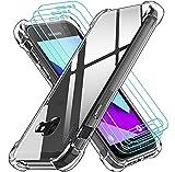 ivoler Funda para Samsung Galaxy Xcover 4 / Samsung Galaxy Xcover 4s con 3 Unidades Cristal...