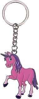 Luxurious Useful Cartoon Unicorn Key Chain Multicoloured Enamel Horse Key Ring Holder Fashion Chaveiro Bag Charm Key Chain...