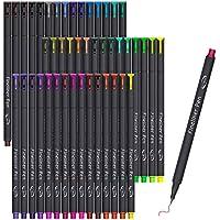 46-Pack Vanstek Journal Planner Colored Pens