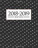 Agenda 2018-2019: 190 x 235 mm : Agenda 2018-2019 semana vista español : 160 g/m² : Agenda semanal 12 meses: Moderno...