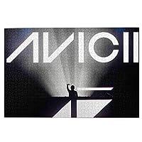 1000ピース Avicii アヴィーチー ジグソーパズル 良質な木製 家庭レジャーと娯楽のジグソーパズル!知的開発、親子ジグソーパズル!サイズ75.5*50.3 Cm