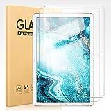 Pnakqil [2 Piezas] Protector de Pantalla para Huawei MediaPad M6 10.8 Protector de Cristal Vidrio Templado Premium Transparencia HD [Anti-arañazos] [No Burbujas] para Huawei MediaPad M6 10.8 Pulgadas