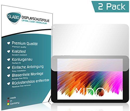 Slabo 2 x Bildschirmschutzfolie für XIDO X111 IPS Bildschirmschutz Schutzfolie Folie Crystal Clear KLAR
