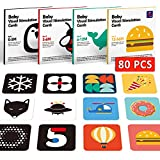 Baby Flash Cards Baby Visual Stimulation Cards...