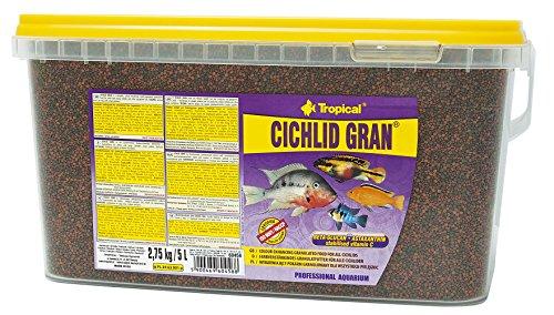 TROPICAL Cichlid Gran Nourriture pour Aquariophilie 10 L/5.5 kg